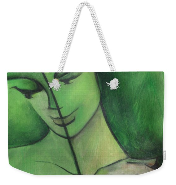 When Body Becomes Word Weekender Tote Bag