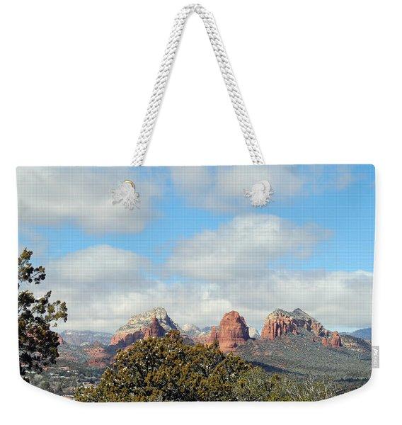 When Far Clouds Depart Weekender Tote Bag