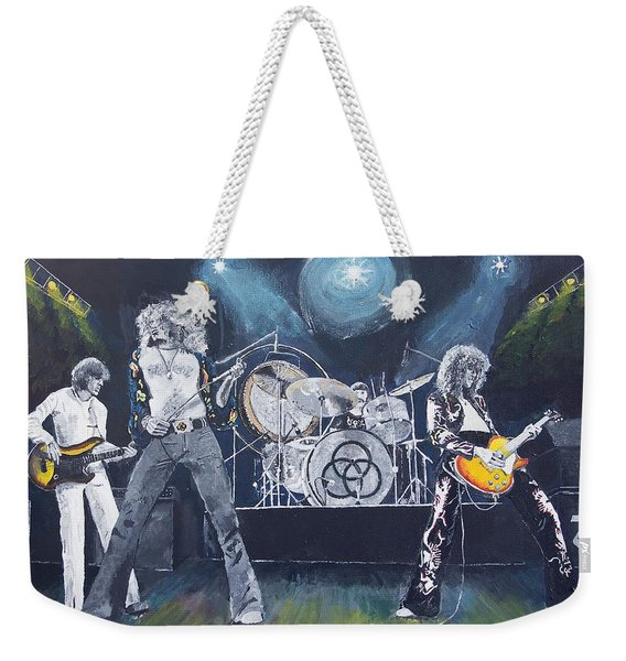 When Giants Rocked The Earth Weekender Tote Bag