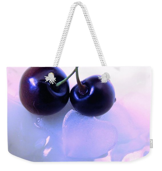 When Two Hearts Become One Weekender Tote Bag