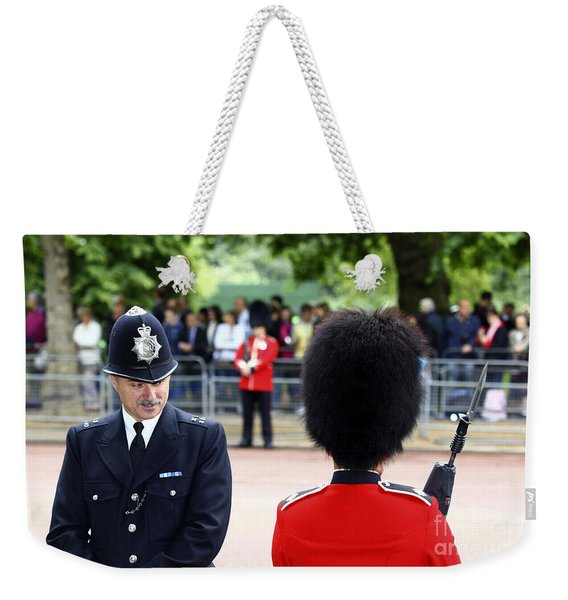 Where Can I Get A Uniform Like That Weekender Tote Bag