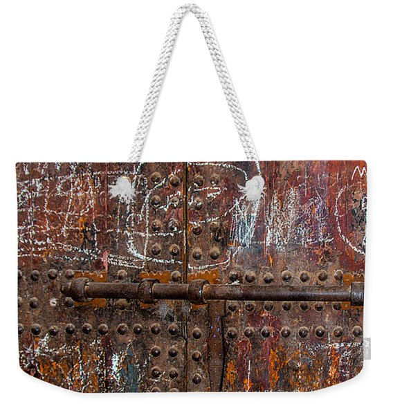 Marrakech Door Weekender Tote Bag