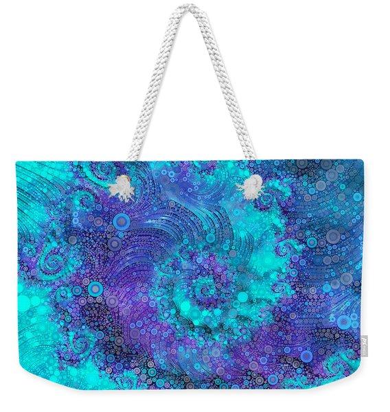 Where Mermaids Play Weekender Tote Bag