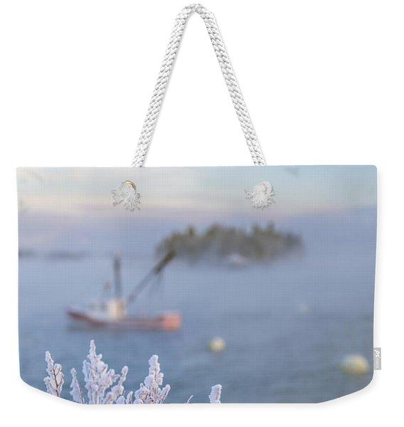 Where Morning Glories Grow Weekender Tote Bag