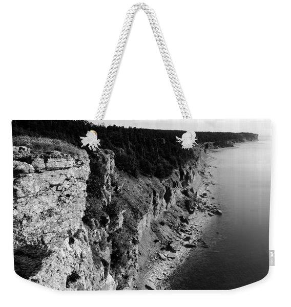 Where Sea Meets Land Weekender Tote Bag