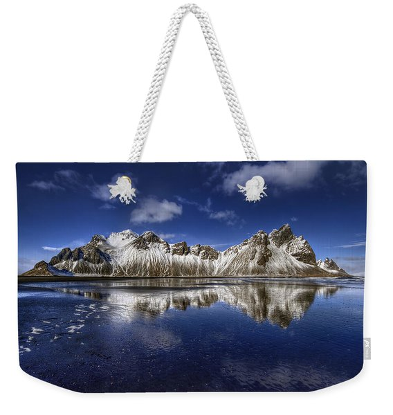 Where The Mountains Meet The Sky Weekender Tote Bag