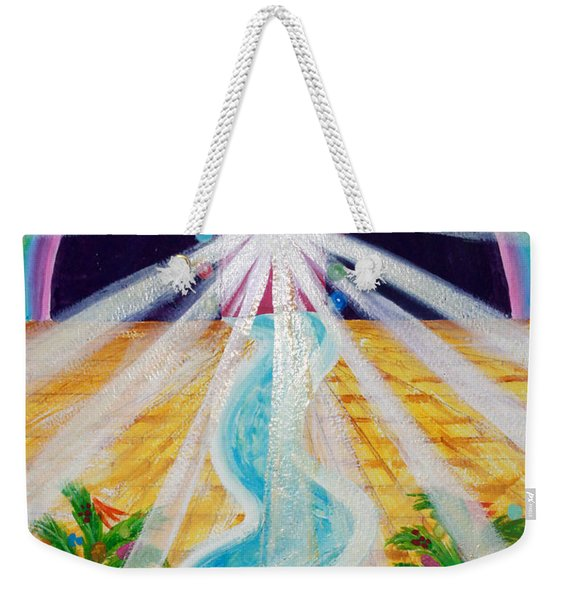 Where The Road Is Paved In Gold Weekender Tote Bag