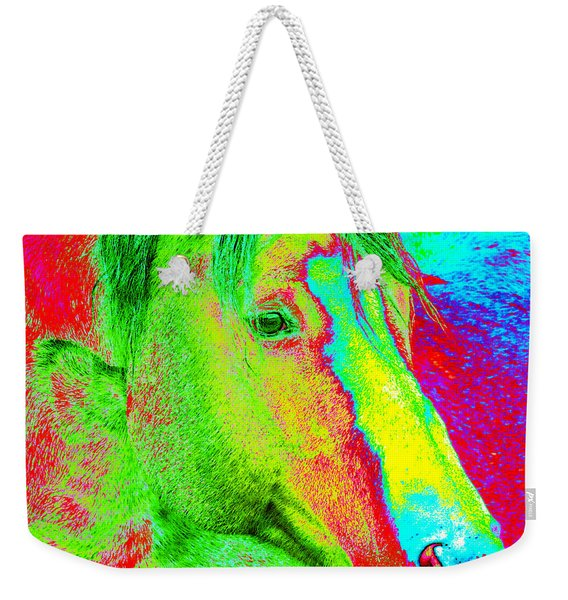 Up Close And Electrified Weekender Tote Bag