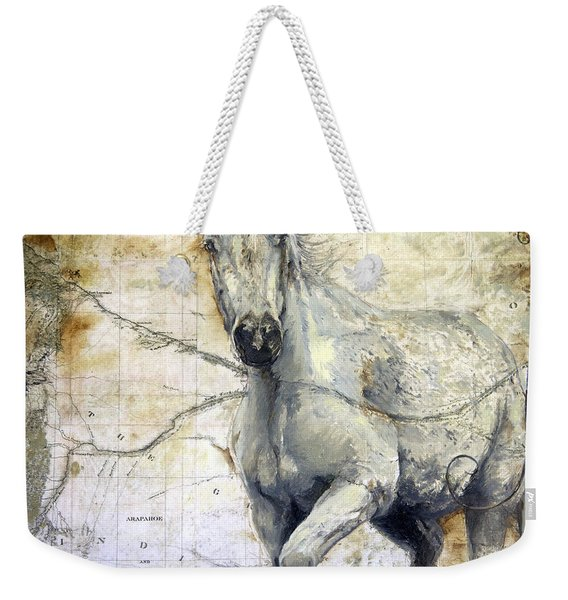 Whipsers Across The Steppe Weekender Tote Bag
