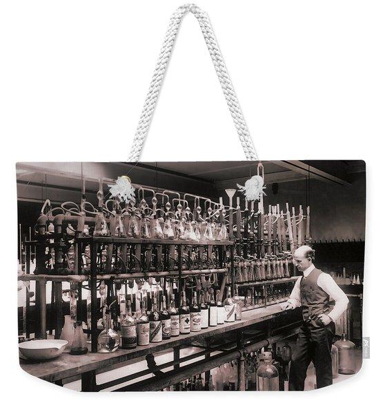 Whiskey Test Lab  1914 Weekender Tote Bag