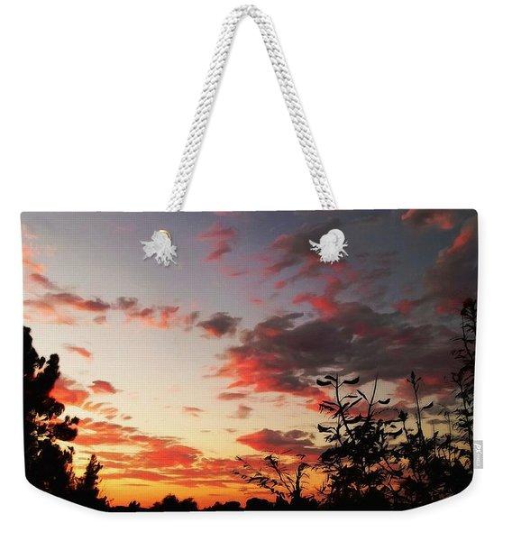 Whisper Of Evening Weekender Tote Bag