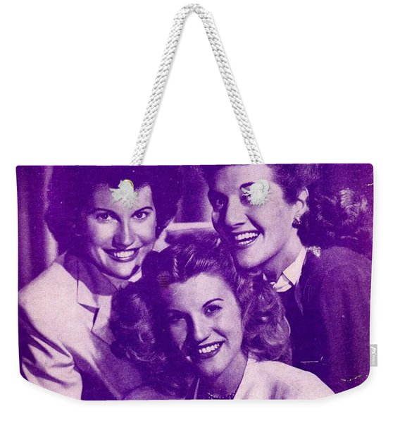 Whispering Hope Weekender Tote Bag