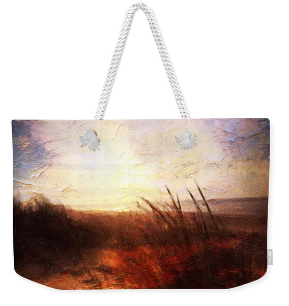 Whispering Shores By M.a Weekender Tote Bag