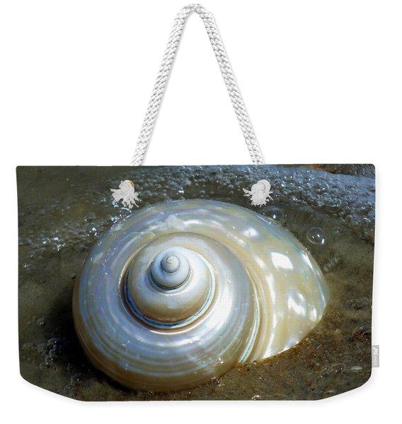 Whispering Tides Weekender Tote Bag