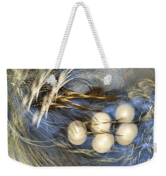 Whispering Wind - Abstract Art Weekender Tote Bag