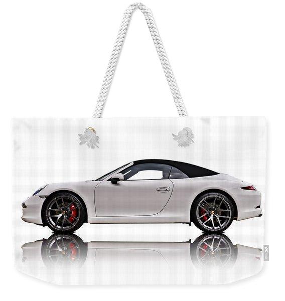 White 911 Weekender Tote Bag
