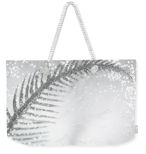 White Bird Weekender Tote Bag