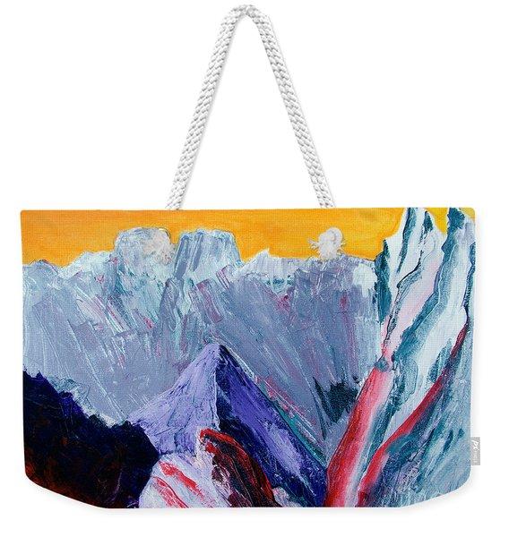White Canyon Weekender Tote Bag