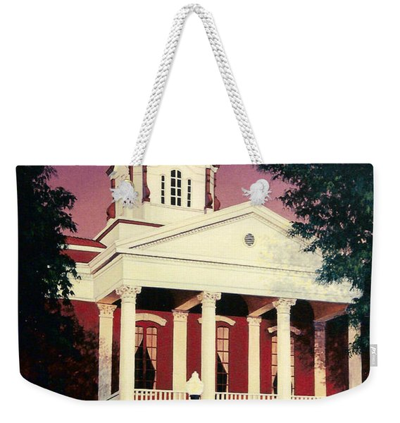 White County Courthouse Weekender Tote Bag