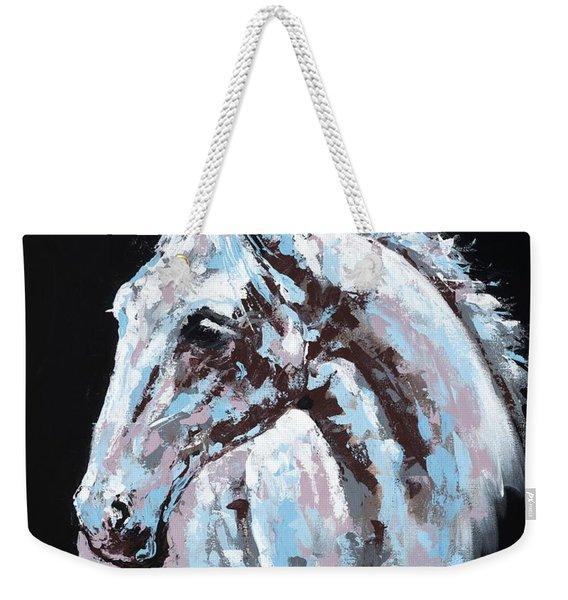 White Horse Weekender Tote Bag