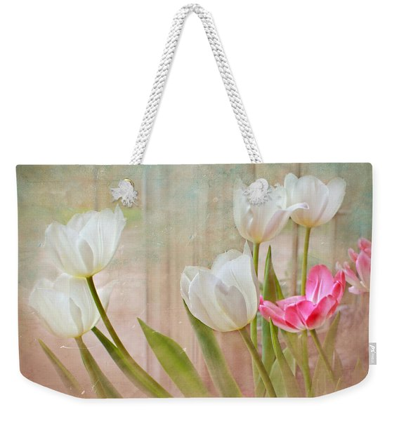 White Lily Show Weekender Tote Bag