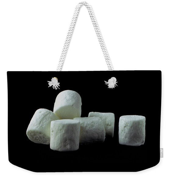 White Marshmallows Weekender Tote Bag