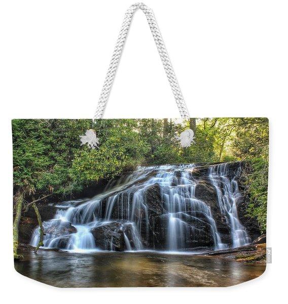 White Owl Falls Weekender Tote Bag