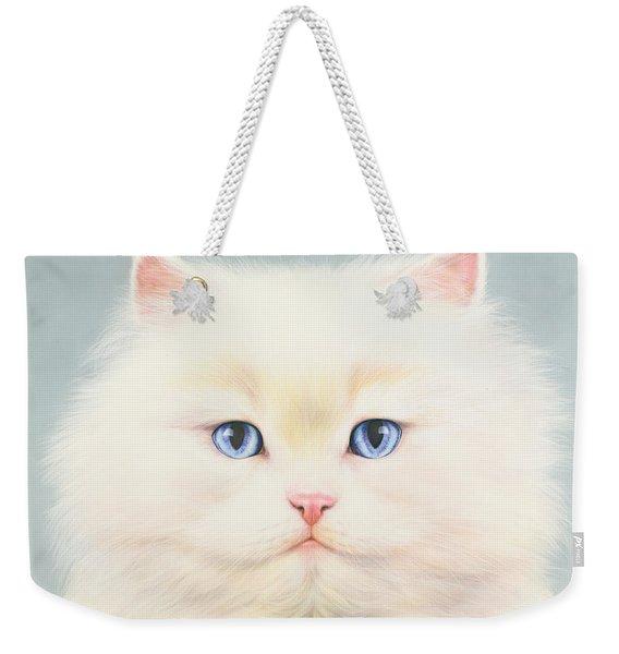 White Persian Weekender Tote Bag