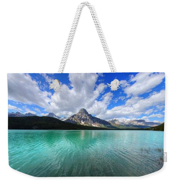 White Pyramid Weekender Tote Bag