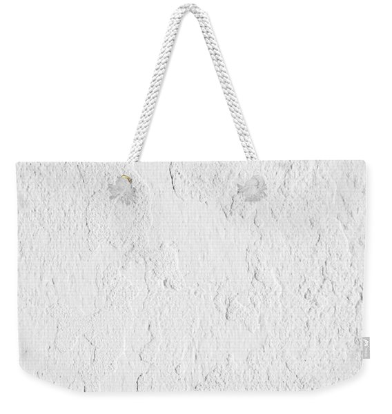 White Stucco Weekender Tote Bag