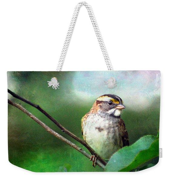 White-throated Sparrow Weekender Tote Bag