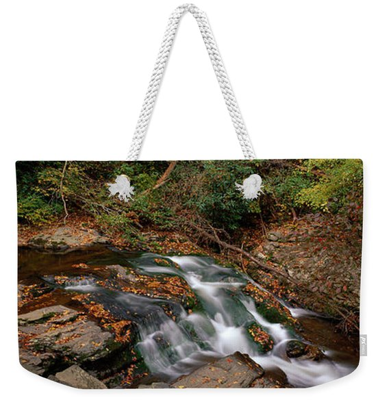 White Water The Great Smoky Mountains Weekender Tote Bag