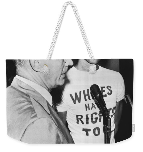 whites Have Rights Too Shirt Weekender Tote Bag