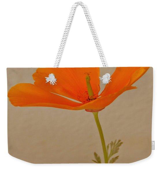 Wild California Poppy No 1 Weekender Tote Bag