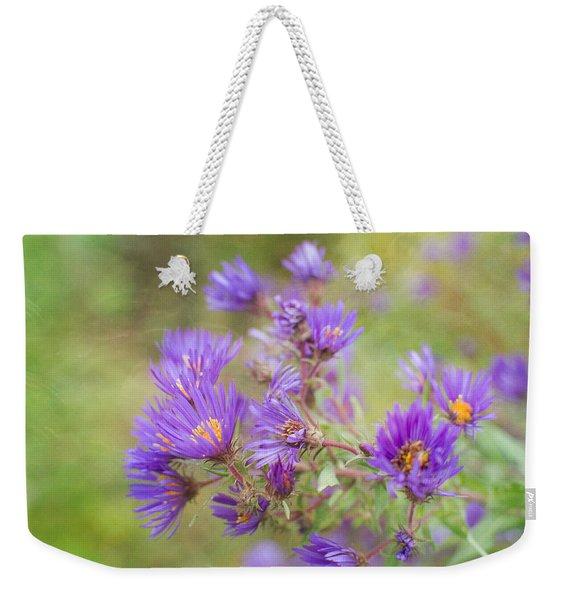 Wild Flowers In The Fall Weekender Tote Bag