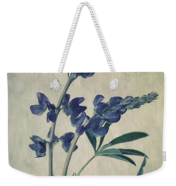 Wild Lupine Weekender Tote Bag