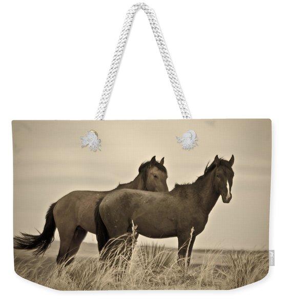 Wild Mustangs Of New Mexico 3 Weekender Tote Bag