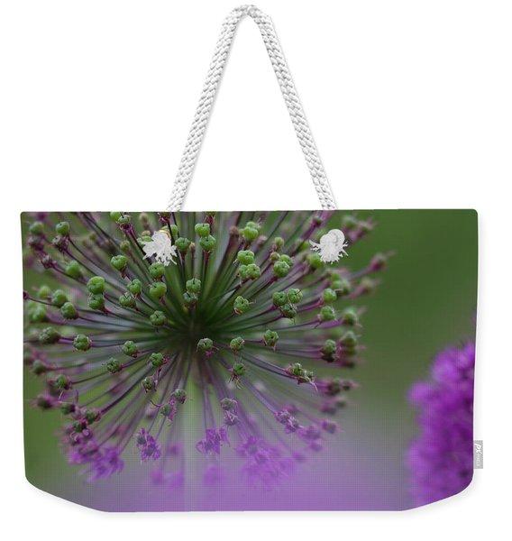 Wild Onion Weekender Tote Bag