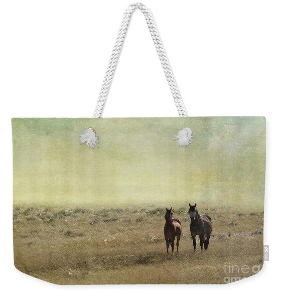Wild Pair Weekender Tote Bag