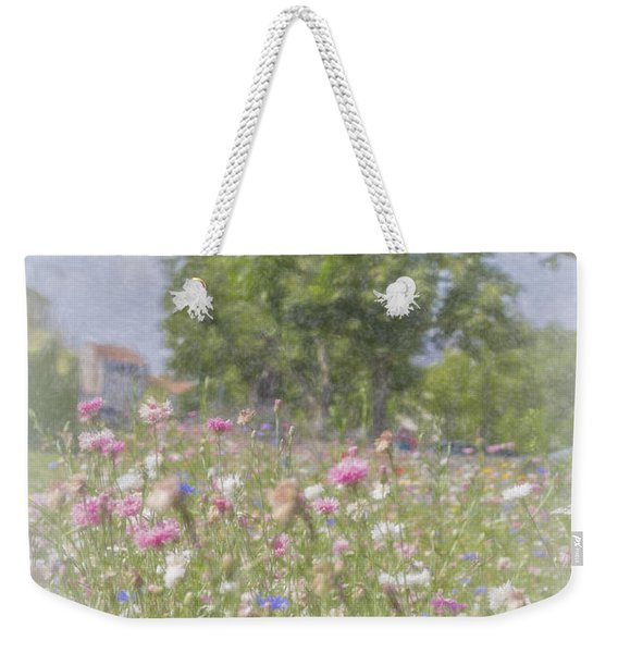 Wildflower Impressionism Weekender Tote Bag