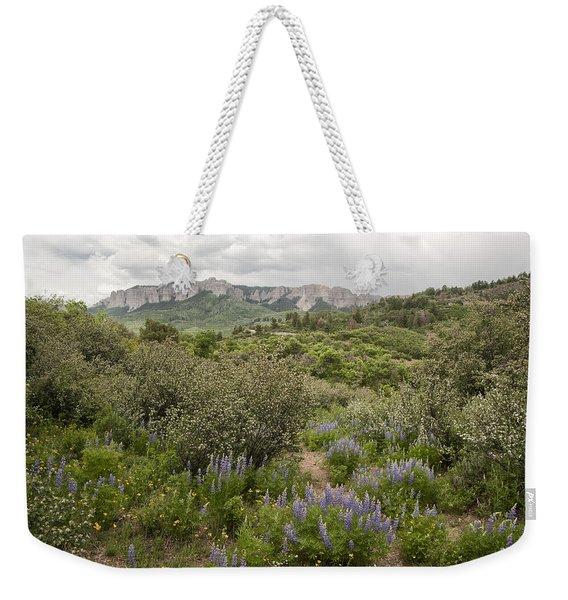 Wildflower Meadow In Uncompahgre Weekender Tote Bag