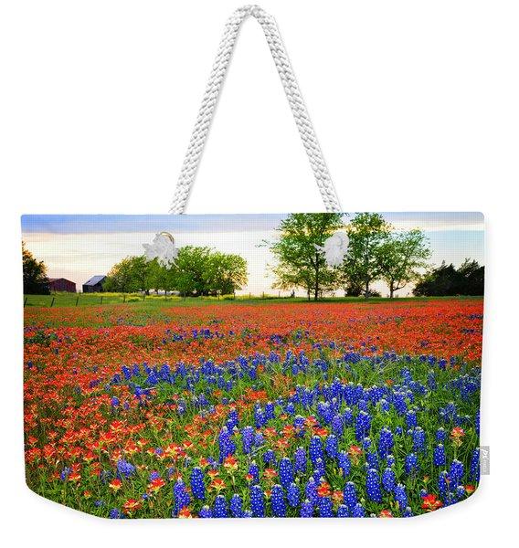 Wildflower Tapestry Weekender Tote Bag