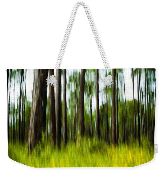 Wildflowers In The Forest Weekender Tote Bag
