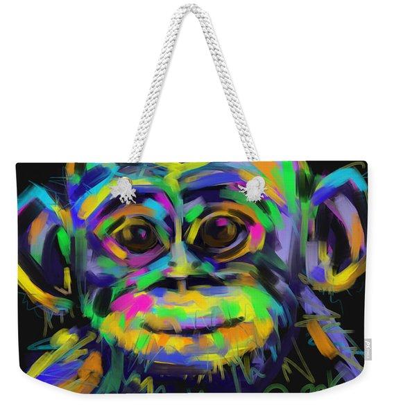 Wildlife Baby Chimp Weekender Tote Bag