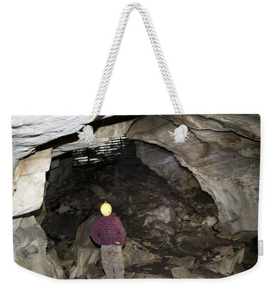 Wildlife Scientist In Guano Hall Weekender Tote Bag