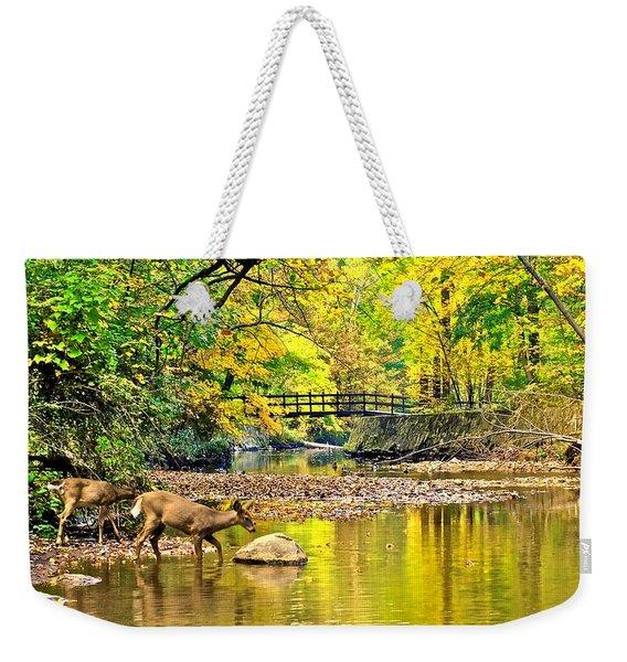 Wildlifes Thirst Weekender Tote Bag