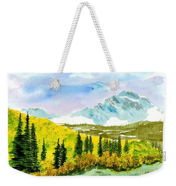 Willard Peak Weekender Tote Bag