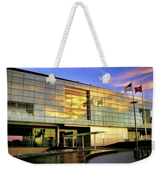 William Jefferson Clinton Presidential Library Weekender Tote Bag
