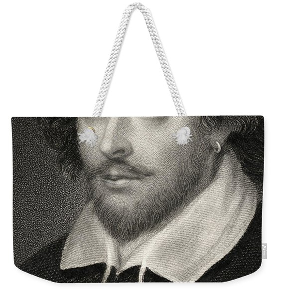 William Shakespeare Weekender Tote Bag