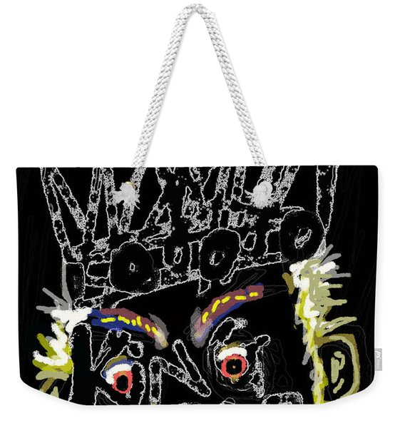 William Shakespeare's King Lear Poster Weekender Tote Bag